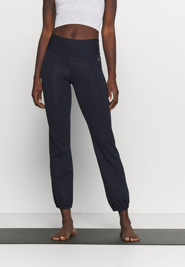 JOGGER PANTS - Pantaloni sportivi - night blue