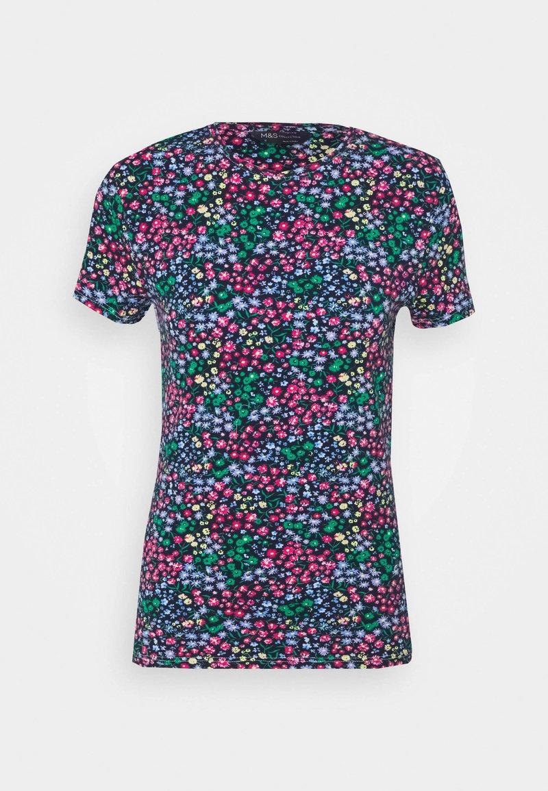 Marks & Spencer London - FITTED - Camiseta estampada - multi-coloured