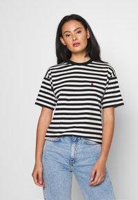Carhartt WIP - PARKER - Print T-shirt -  black/wax - 0