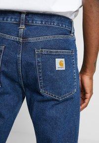 Carhartt WIP - PONTIAC PANT MAITLAND - Straight leg jeans - blue stone washed - 4