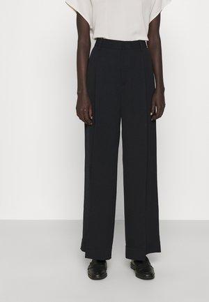 STACEY TROUSER - Pantalon classique - black