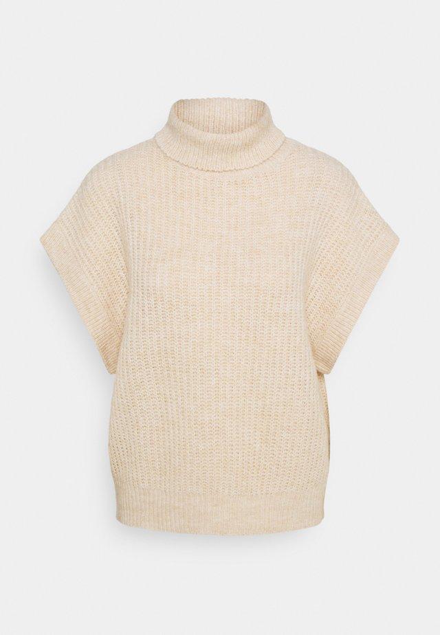 ALINA VEST - T-shirts med print - beige