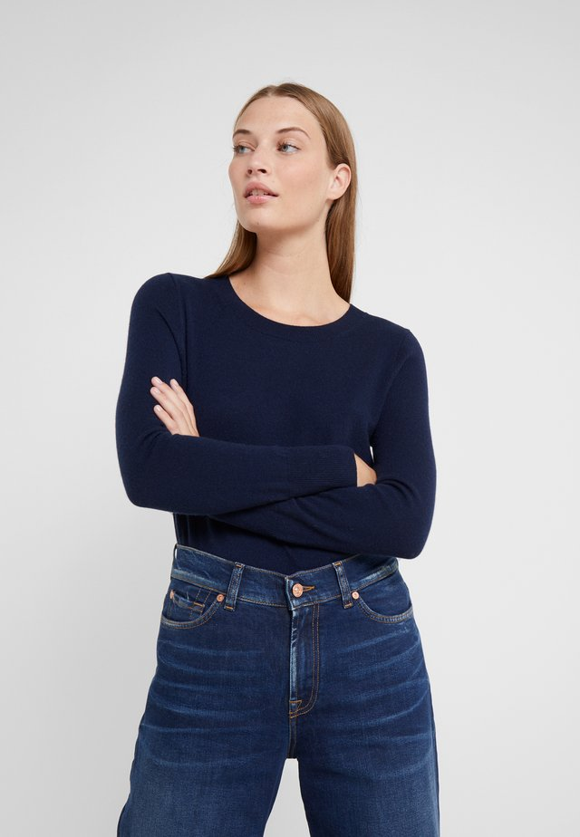 LAYLA CREW - Pullover - navy