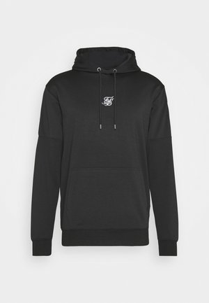 APPLIQUE OVERHEAD HOODIE - Sweat à capuche - black