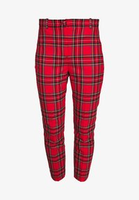 J.CREW - CAMERON IN GOOD TIDINGS - Pantaloni - red/black/multi - 4