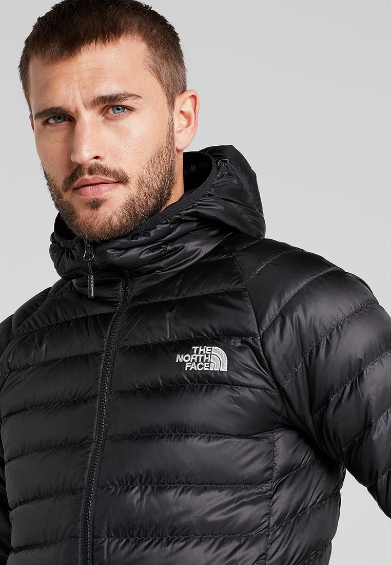The North Face TREVAIL HOODIE - Doudoune - black