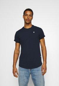 G-Star - LASH 2 PACK - Basic T-shirt - sartho blue - 2