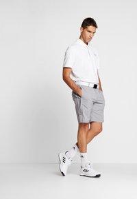 adidas Golf - STRIPE COLLECTION - Sportovní kraťasy - grey five melange - 1