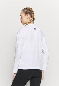 adidas Performance - Topper langermet - white/black - 2