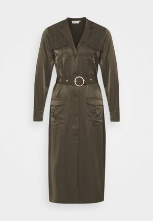 CMSWAY - Shirt dress - dark olive