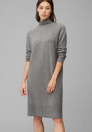 Jumper dress - middle stone melange