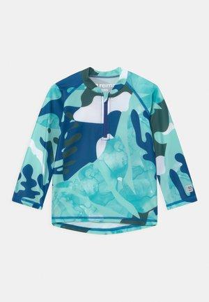 TUVALU UNISEX - Rash vest - blue