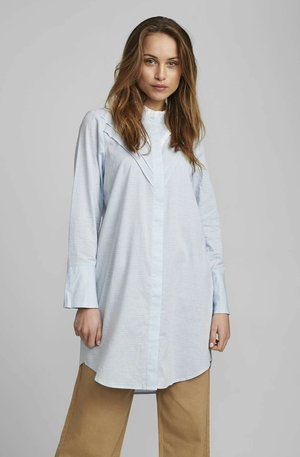 Button-down blouse - airy blue