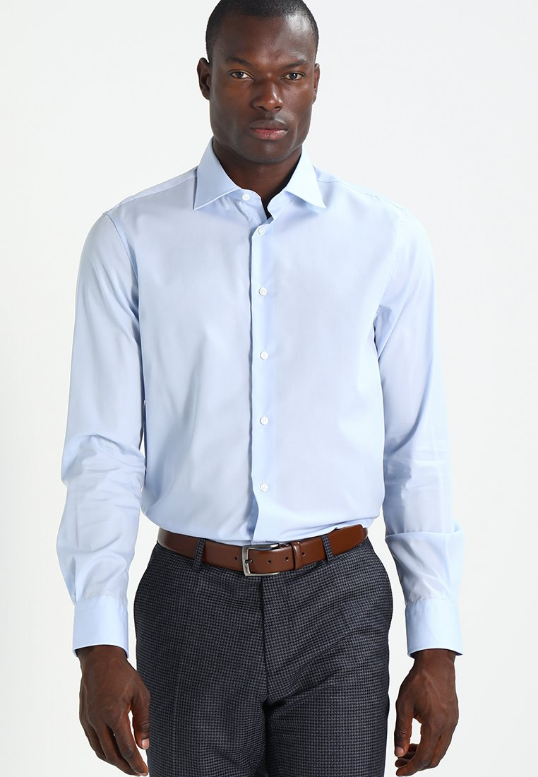 Tommy Hilfiger Tailored - FITTED - Formal shirt - blue