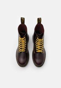 Dr. Martens - 1460 PASCAL UNISEX - Lace-up ankle boots - oxblood - 3