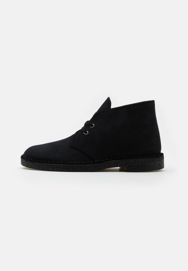 DESERT BOOT - Casual lace-ups - navy