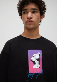 PULL&BEAR - T-shirts print - black - 3