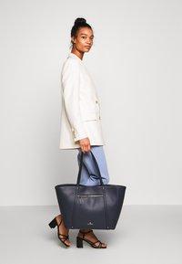 Anna Field - SHOPPING BAG / POUCH SET - Shopping bag - dark blue - 1