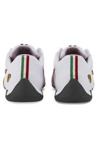 Puma - FERRARI R-CAT - Trainers - puma white-rosso corsa - 5