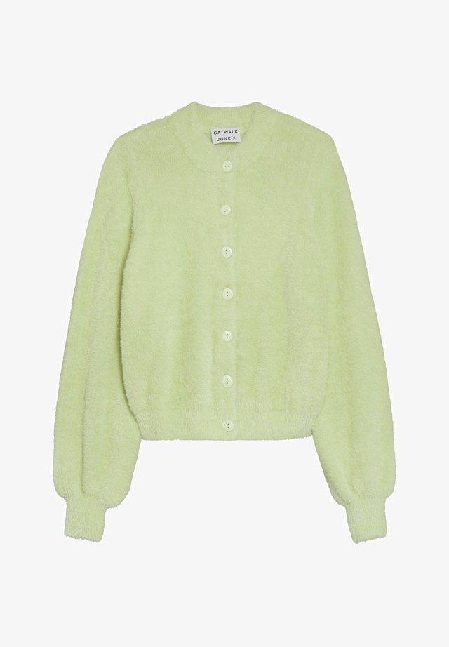 OTIS - Cardigan - patina green