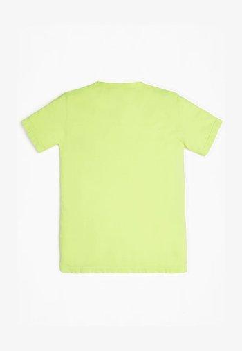 JUNIOR - Print T-shirt - leuchtgelb