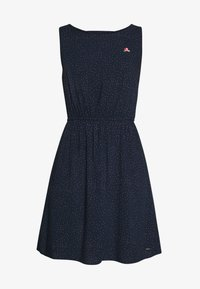 TOM TAILOR DENIM - DRESS WITH EMBROIDERY - Day dress - navy - 5