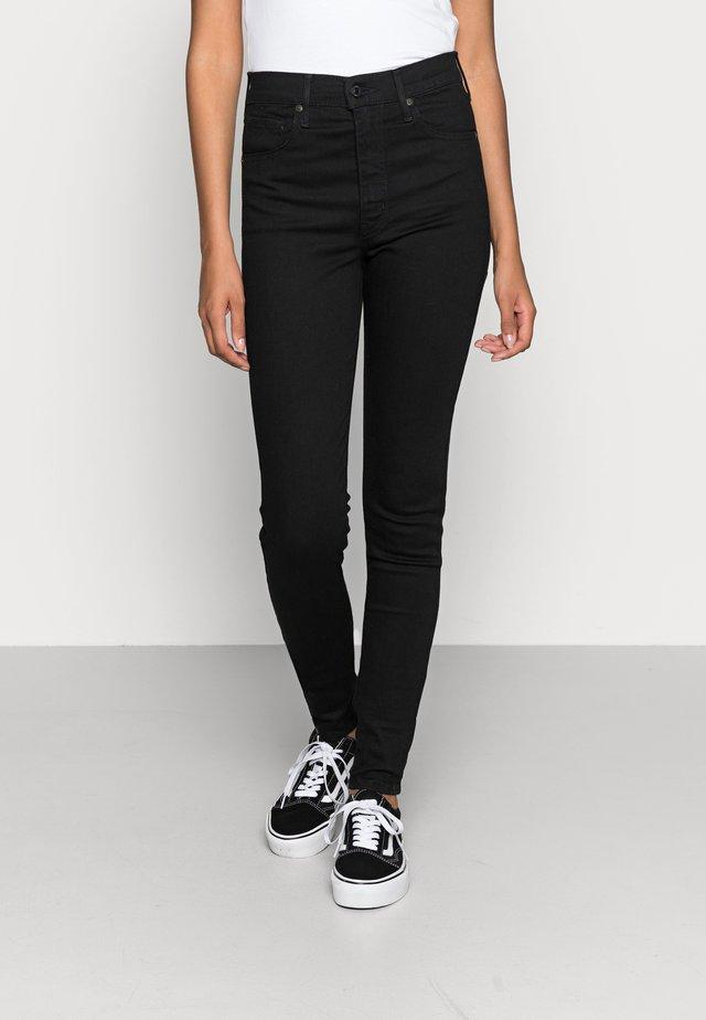 MILE HIGH SUPER SKINNY - Jeans Skinny Fit - black galaxy