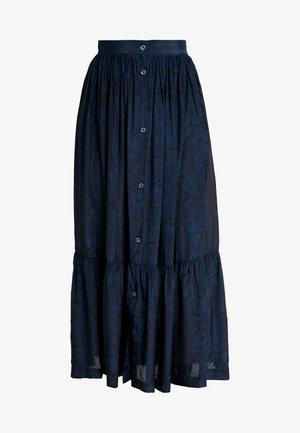 FRANGINE - Maxi sukně - navy
