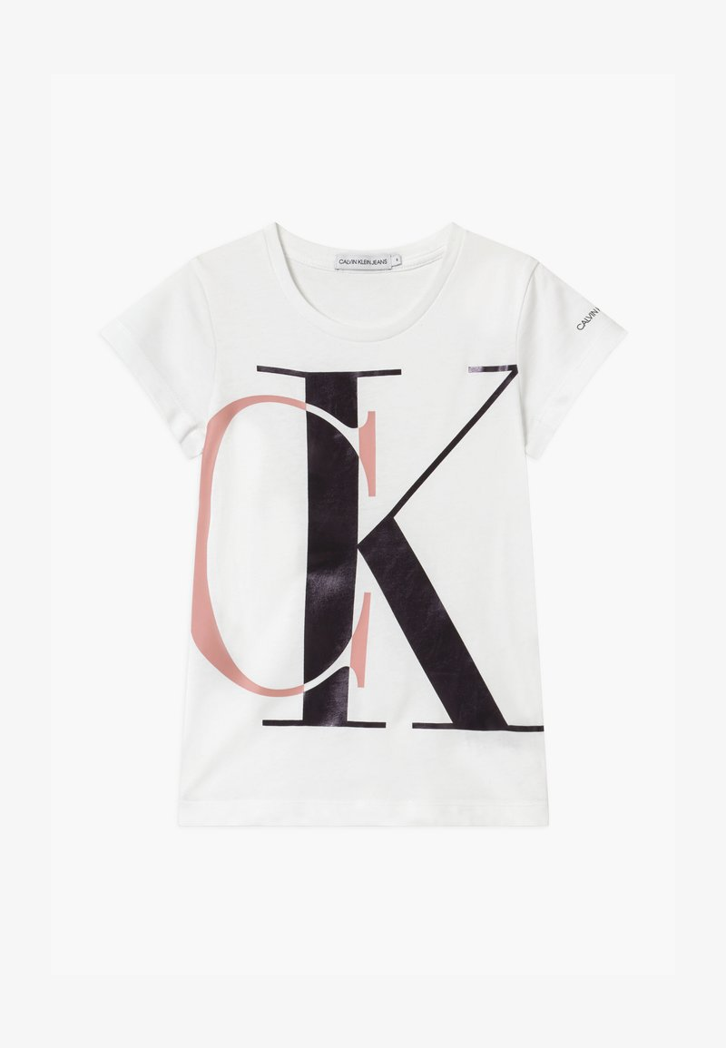 Calvin Klein Jeans - EXPLODED MONOGRAM - Print T-shirt - white