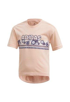 COTTON T-SHIRT - Print T-shirt - pink