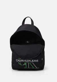 Calvin Klein Jeans - CAMPUS GLOW UNISEX - Batoh - black - 2