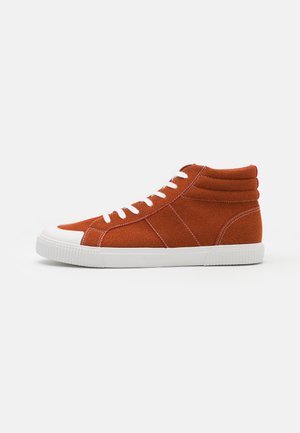 LACCA - Sneakers alte - burnt red/white