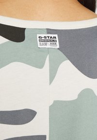 G-Star - JOOSA DRESS R WMN S/S - Žerzejové šaty - green - 4