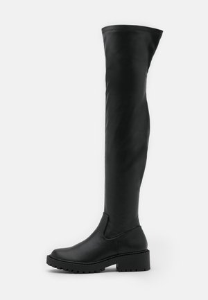 LUG SOLE BOOT - Cuissardes - black
