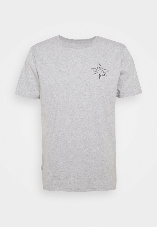 SWALLOW - T-shirt con stampa - light grey