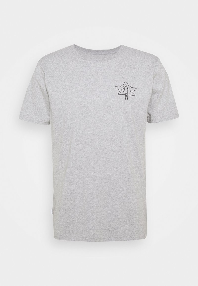 Makia - SWALLOW - Camiseta estampada - light grey