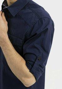 camel active - WORKWEAR - Shirt - dark blue - 4