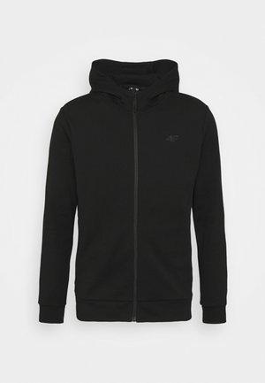 Men's hoodie - Zip-up hoodie - black