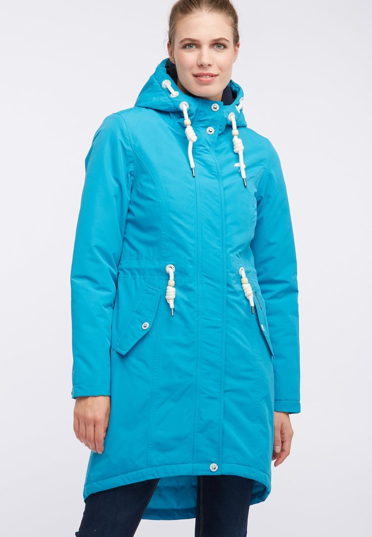 New Release Women's Clothing Schmuddelwedda Parka turquoise wexLHgrA8
