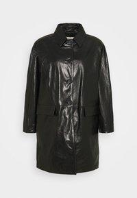 Alexa Chung - OVERCOAT - Leren jas - black - 0
