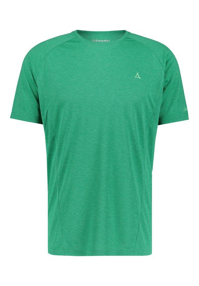 BOISE - Print T-shirt - grün (400)