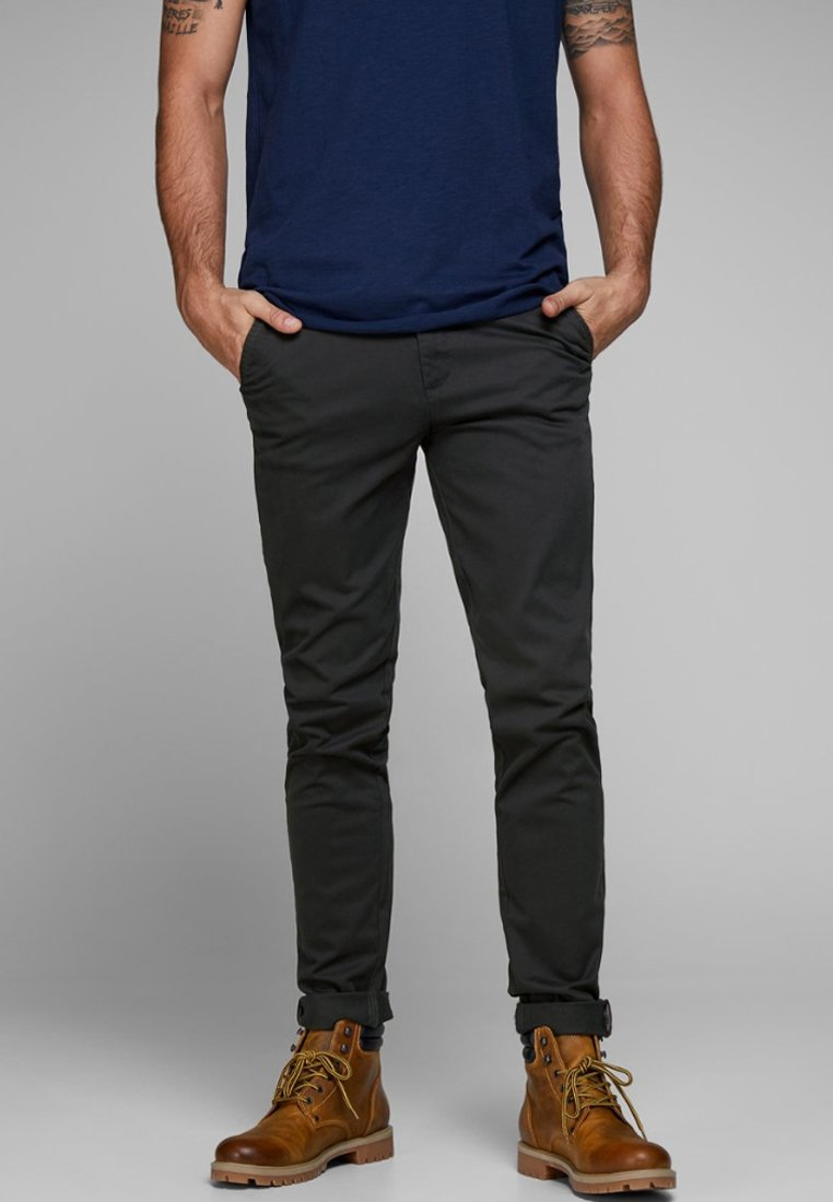 Jack & Jones - MARCO BOWIE - Chinos - black