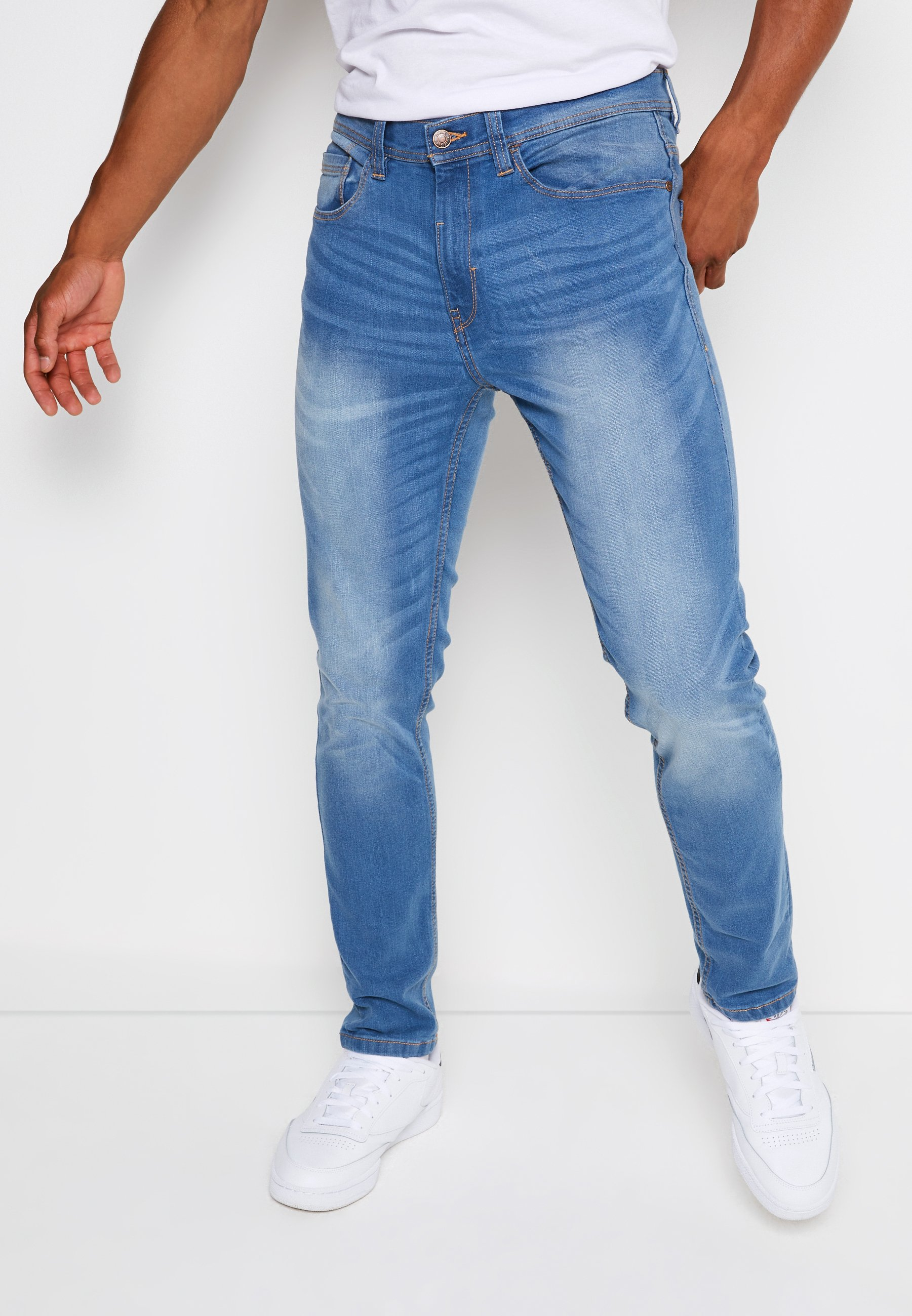 Uomo Jeans Tapered Fit