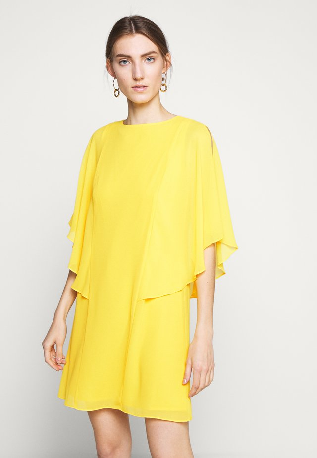 CLASSIC SOLID DRESS - Day dress - summer lemon