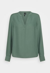 Vero Moda - VMSWEET V NECK - Bluser - laurel wreath - 0