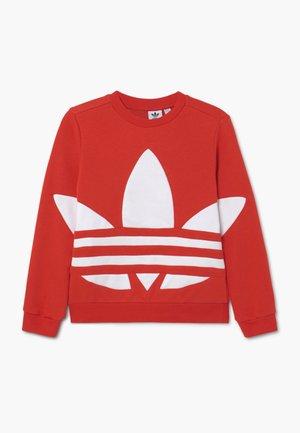 TREFOIL CREW - Sweater - red