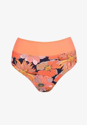 MIT UMSCHLAG MELANESIA - Bikini bottoms - coral flower