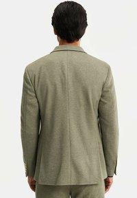 WE Fashion - HEREN SLIM FIT  - Giacca elegante - olive green - 2