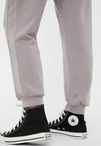 MAMALICIOUS - Tracksuit bottoms - dark grey