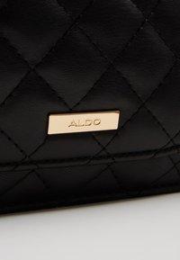 ALDO - BRESSANVIDO - Torba na ramię - jet black/gold-coloured - 6